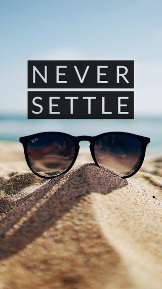 Обои на телефон человек, фотография, солнце, солнечные очки, решить, песок, пейзаж, никогда, sand never settle, never settle