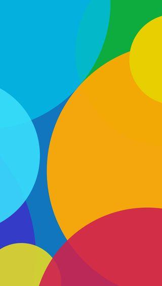Обои на телефон сяоми, пузыри, красочные, абстрактные, xiaomi, miui v6, miui 6 - bubbles, miui 6, miui