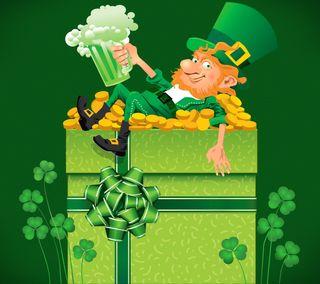 Обои на телефон трилистник, ирландия, праздник, патрик, день, st patrick day, leprechaun