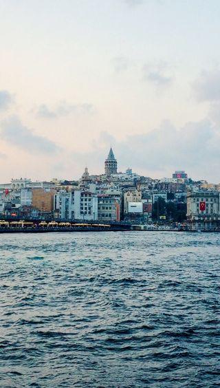 Обои на телефон стамбул, турецкие, галата, башня, sirkeci, galata kulesi, eminonu