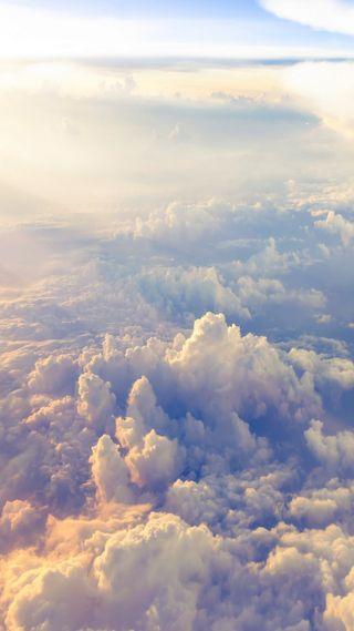 Обои на телефон ок, приятные, природа, облака, небо, крутые, красота, классные, вид