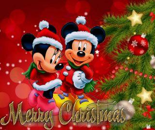 Обои на телефон счастливое, рождество, маус, дисней, miki mouse