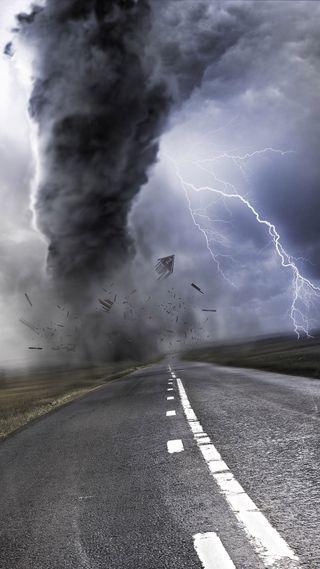 Обои на телефон шторм, торнадо, into the storm