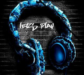 Обои на телефон hd, lets play, lets rock, music beats, rocking, музыка, рок, игра, наушники