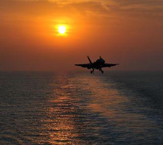 Обои на телефон самолет, военно морские