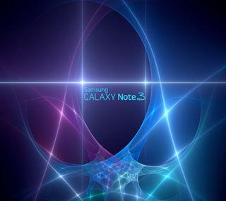 Обои на телефон светящиеся, сияние, синие, свет, самсунг, неоновые, логотипы, галактика, samsung, note3, galaxy