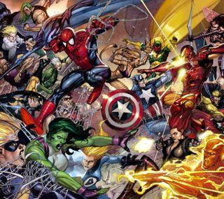 Обои на телефон война, супер, отношение, мультфильмы, мстители, марвел, крутые, комиксы, герой, marvel