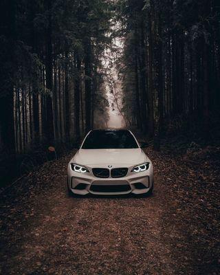 Обои на телефон бмв, природа, машины, м2, лес, купе, деревья, автомобили, m power, f87, bmw