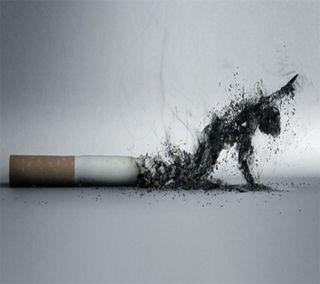Обои на телефон фан, сигареты, дым