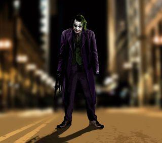 Обои на телефон рыцарь, улица, темные, джокер, joker in street