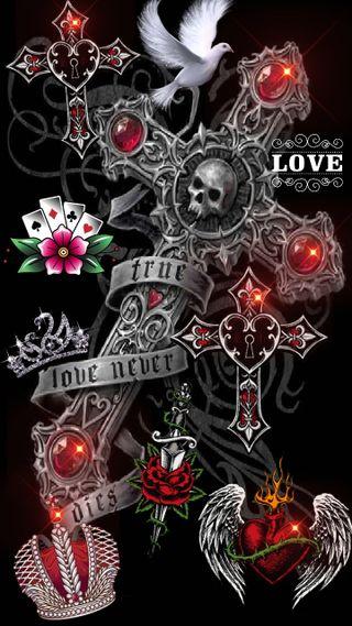 Обои на телефон карты, меч, любовь, крылья, крест, красые, корона, камни, голубь, античный, love, antique cross