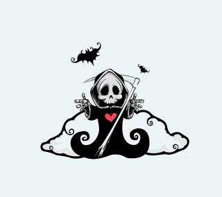 Обои на телефон ужасные, шаблон, хэллоуин, фиолетовые, тыква, страшные, синие, оранжевые, летучая мышь, scary slayer, Halloween