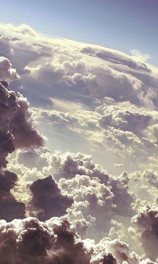 Обои на телефон природа, пейзаж, облака, небо