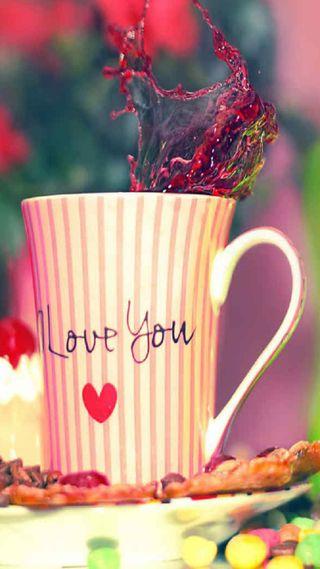 Обои на телефон чай, чашка, утро, ты, сердце, приятные, любовь, кофе, loveu, i love you, good, coffee cup