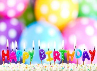 Обои на телефон свечи, цветные, торт, счастливые, празднование, день рождения, happy