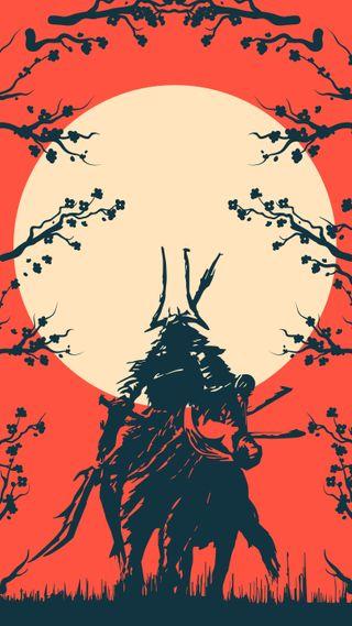 Обои на телефон самурай, японские, токио, новый, дизайн, векторные, арт, аниме, samurai4, art, 2019