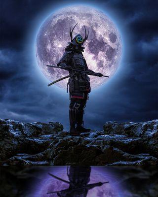 Обои на телефон самурай, ассасин