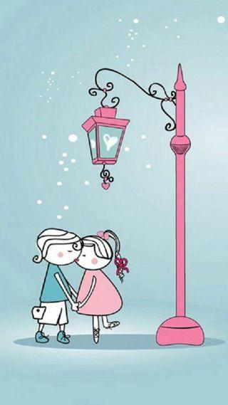 Обои на телефон я, поцелуй, любовь, love