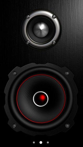 Обои на телефон музыка, минимализм, логотипы, звук, бум, speakers, speaker, power, hd, full, cameras