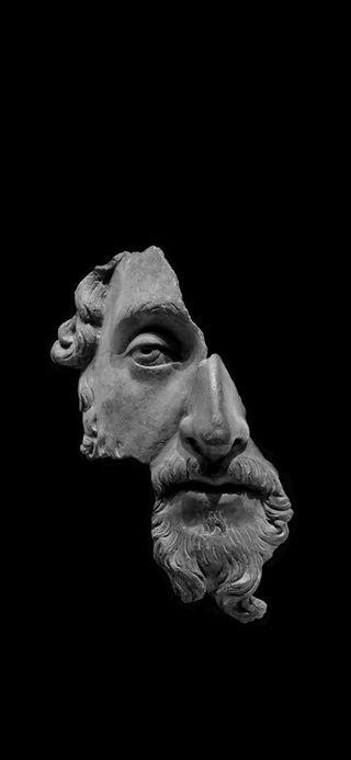 Обои на телефон статуя, настроение, грустные, society, disillusioned, aesthetics