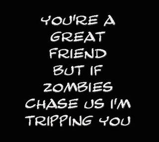 Обои на телефон зомби, юмор, забавные, друг, chase