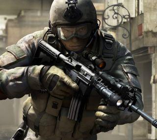 Обои на телефон солдат, сила, комбат, delta force