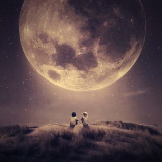 Обои на телефон звезда, небо, мы, луна, космос, земля, звезды, галактика, вместе, we are together, galaxy