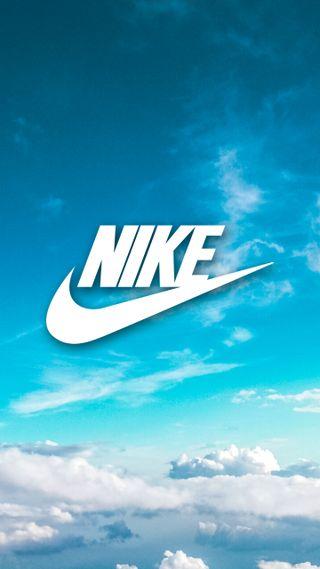 Обои на телефон просто, синие, оно, облака, небо, найк, логотипы, бренды, белые, nike sky, nike, just do it, air
