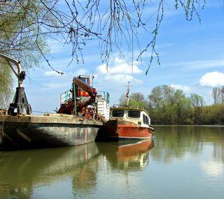 Обои на телефон лодки, река, лодка, вода, danube, boats on river