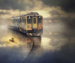 Обои на телефон поезда