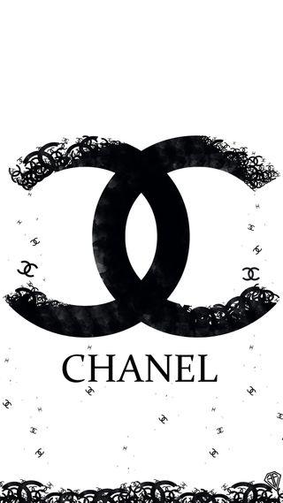 Обои на телефон черно белые, цветы, приятные, прекрасные, девушки, chanel, cc