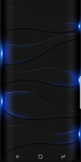 Обои на телефон светящиеся, черные, цветные, синие, абстрактные, solid