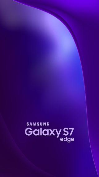 Обои на телефон фиолетовые, самсунг, грани, абстрактные, samsung, s7 edge, s7