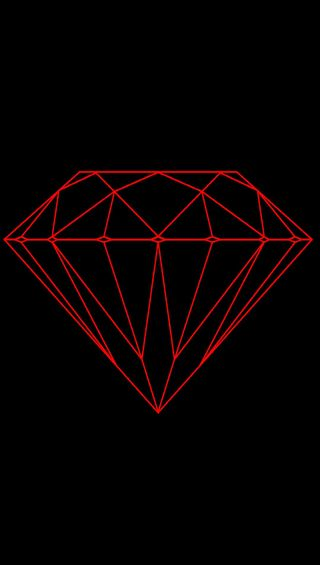 Обои на телефон красые, бриллиант, red diamond, gfd
