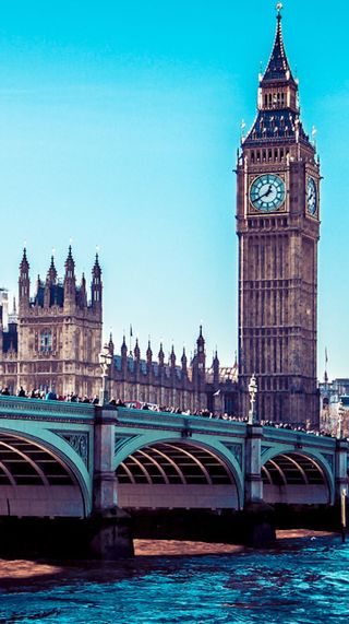 Обои на телефон лондон, солнце, синие, город, весна, london calling