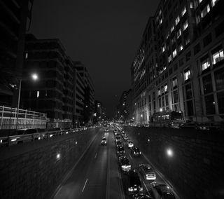 Обои на телефон экран блокировки, улицы, темные, dark streets