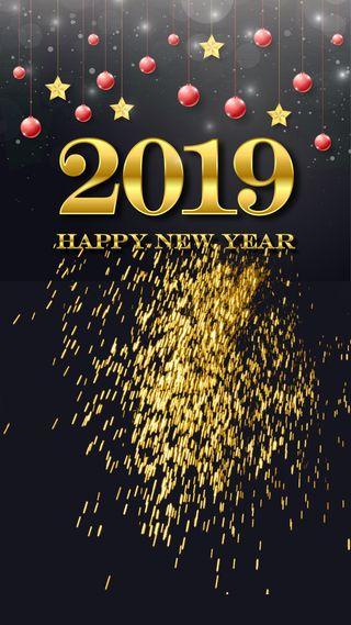 Обои на телефон пожелание, шары, счастливые, празднование, новый, любовь, красые, золотые, звезды, love, 2019