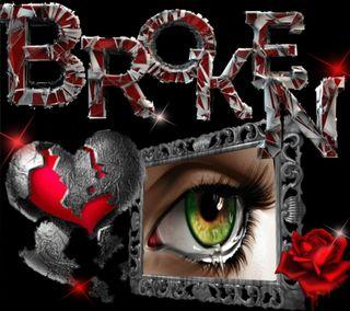 Обои на телефон болит, сломанный, слеза, сердце, розы, любовь, глаза, love hurts