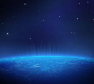 Обои на телефон планета, космос, звезды