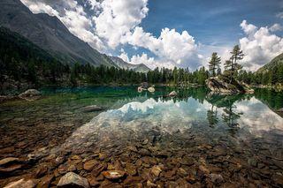 Обои на телефон рок, озеро, природа, кристалл, камни, горы, вода, crystal lake
