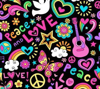Обои на телефон мир, шаблон, любовь, абстрактные, peace and love, love peace