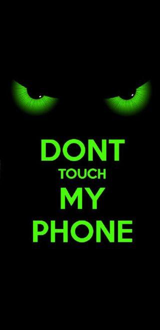 Обои на телефон блокировка, экран, цитата, трогать, не, забавные