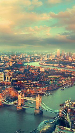 Обои на телефон природа, город, река, лондон, англия