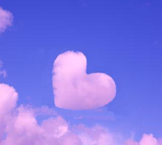 Обои на телефон мечта, сердце, романтика, розовые, облачно, любовь, летать, love, dreaming