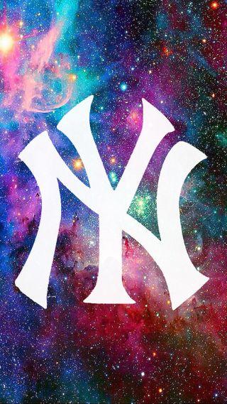 Обои на телефон янки, бейсбол, супер, мяч, галактика, galaxy yankees