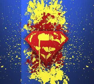 Обои на телефон старые, супермен, логотипы, superman old