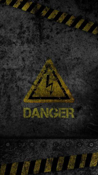 Обои на телефон треугольник, текстуры, опасные, невозможно, знаки, желтые, высказывания