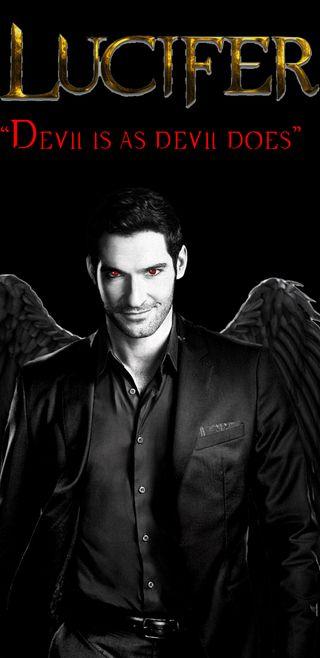 Обои на телефон люцифер, дьявол, демон, lucifan