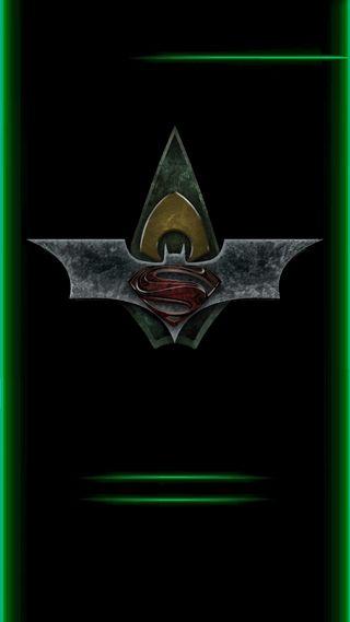 Обои на телефон стрела, супермен, комиксы, зеленые, грани, герои, бэтмен, аква, green arrow, dc heros edge, dc, aqua man