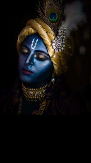 Обои на телефон кришна, господин, бог, god krishna